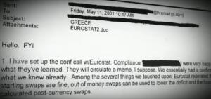 Goldman's Eurostat email